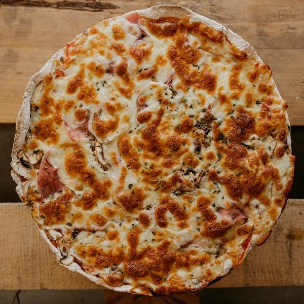 Pizza Champi | Pizzería Ses Estacions, pizzas a domicilio en Palma de Mallorca