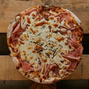 Pizza Jamón   Pizzería Ses Estacions, pizzas a domicilio en Palma de Mallorca