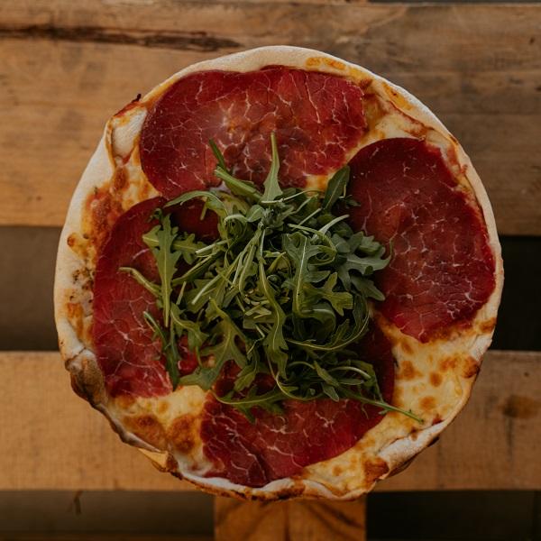 Pizza Bresaola | Pizzería Ses Estacions, pizzas a domicilio en Palma de Mallorca