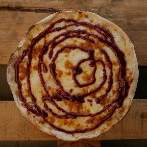 Pizza Camembert   Pizzería Ses Estacions, pizzas a domicilio en Palma de Mallorca