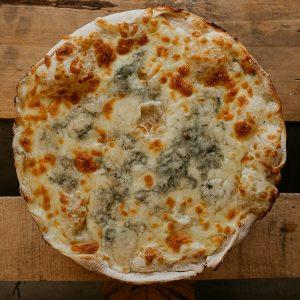 Pizza 4 Quesos | Pizzería Ses Estacions, pizzas a domicilio en Palma de Mallorca