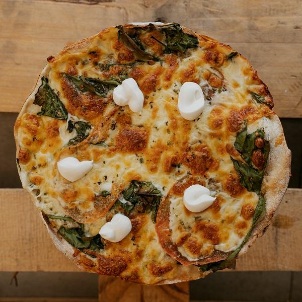 Pizza Del padrino | Pizzería Ses Estacions, pizzas a domicilio en Palma de Mallorca