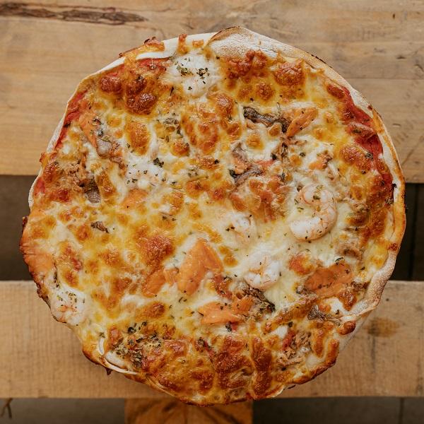 Pizza Frutti di Mare | Pizzería Ses Estacions, pizzas a domicilio en Palma de Mallorca
