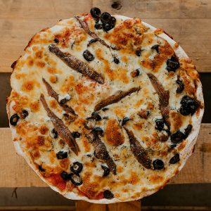 Pizza Napolitana   Pizzería Ses Estacions, pizzas a domicilio en Palma de Mallorca