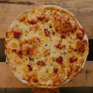Pizza Payesa   Pizzería Ses Estacions, pizzas a domicilio en Palma de Mallorca