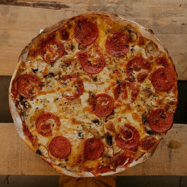 Pizza Romana | Pizzería Ses Estacions, pizzas a domicilio en Palma de Mallorca