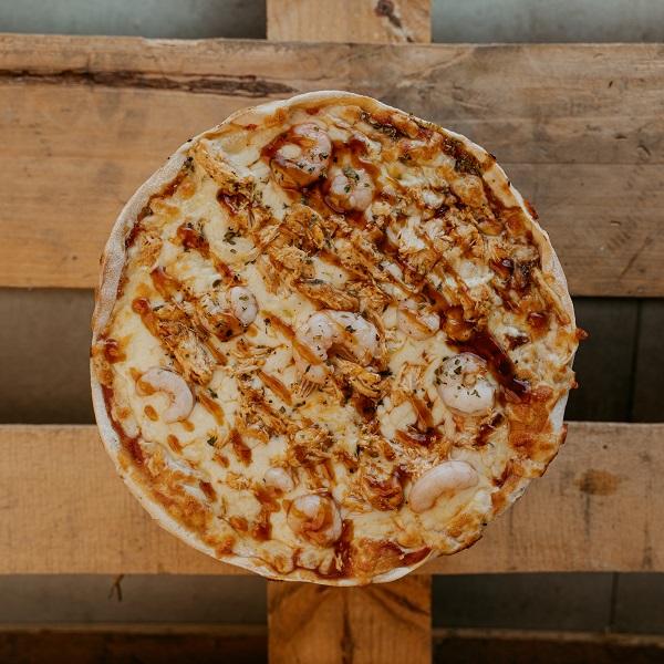 Pizza Teriyaki | Pizzería Ses Estacions, pizzas a domicilio en Palma de Mallorca