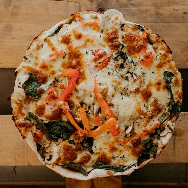 Pizza Vegetariana | Pizzería Ses Estacions, pizzas a domicilio en Palma de Mallorca