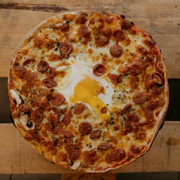 Pizza Veneciana | Pizzería Ses Estacions, pizzas a domicilio en Palma de Mallorca