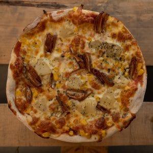 Pizza Tropical | Pizzería Ses Estacions, pizzas a domicilio en Palma de Mallorca