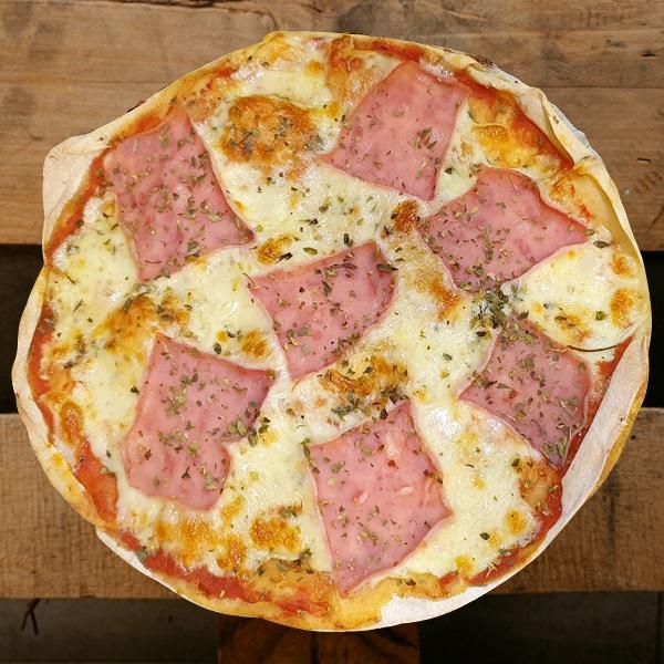 Pizza Jamón | Pizzería Ses Estacions, pizzas a domicilio en Palma de Mallorca