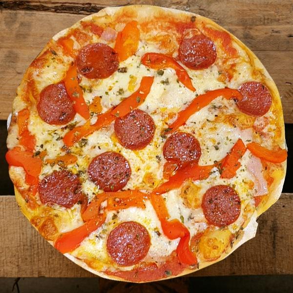 Pizza Rústica | Pizzería Ses Estacions, pizzas a domicilio en Palma de Mallorca